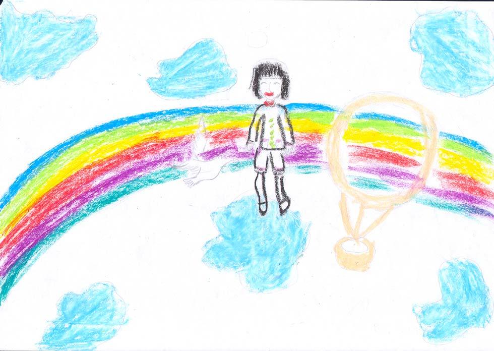 受助儿童绘画作品--《我的梦想》